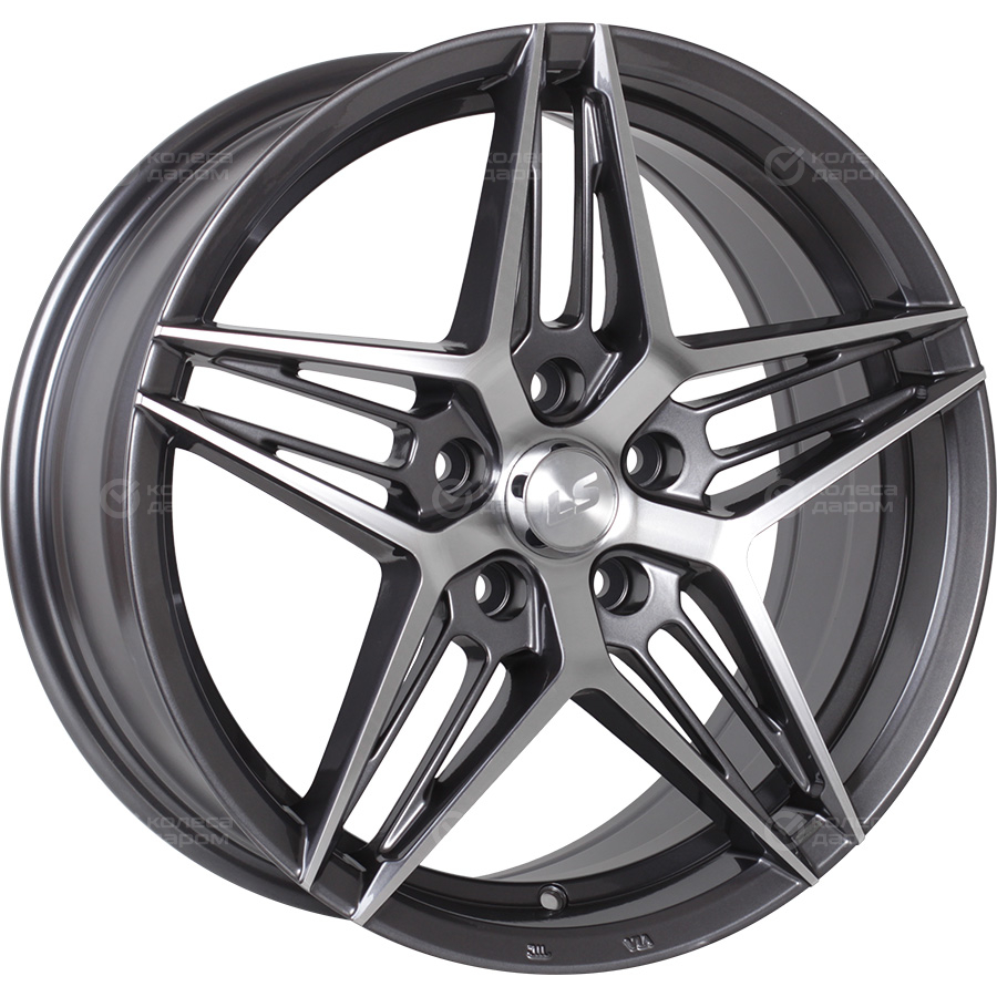 Фото - LS LS 1262 7x16/4x100 D60.1 ET40 GMF колесный диск nz wheels f 6 7x16 4x114 3 d67 1 et40 gmf