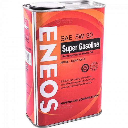 Eneos Моторное масло для автомобиля ENEOS GASOLINE SEMIS-C 5W-30 SL 1 л