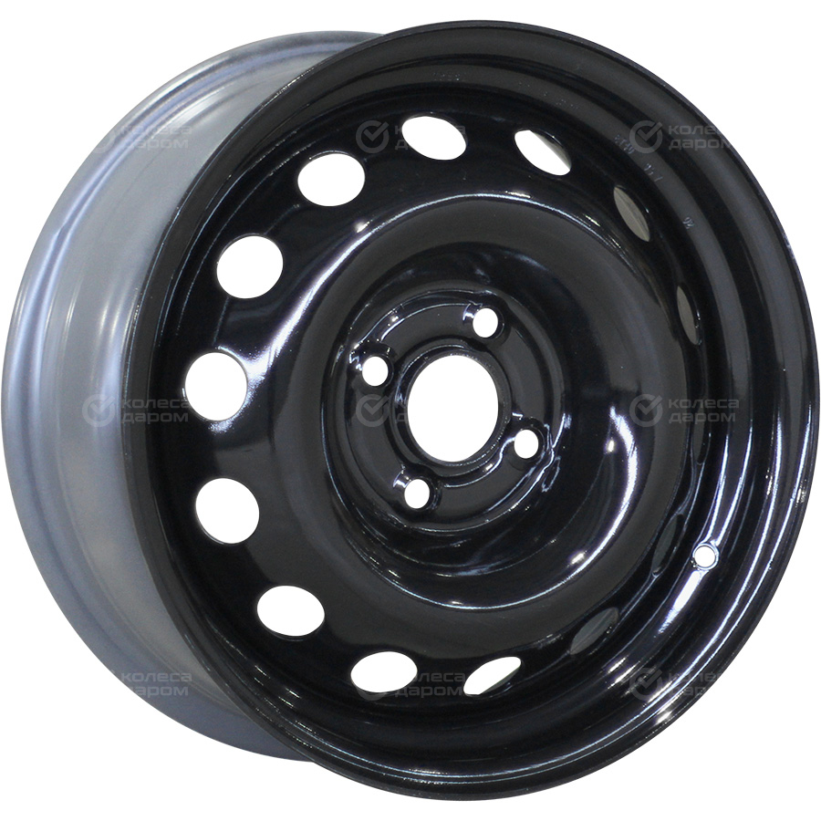 Trebl X40003 TREBL 6x15/4x100 D56.6 ET40 Black колесный диск trebl x40915 6x15 4x100 d60 1 et40 silver