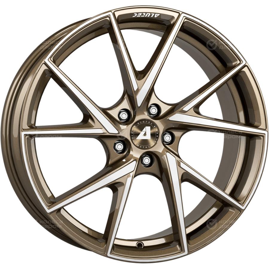 Alutec ADX.01 8.5x18/5x112 D70.1 ET30 Metallic_bronze_front_polished