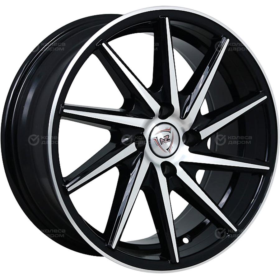 Фото - NZ H-03L 7x15/4x100 D60.1 ET30 BKF колесный диск nz wheels f 1 6 5x16 4x100 d60 1 et50 bkf