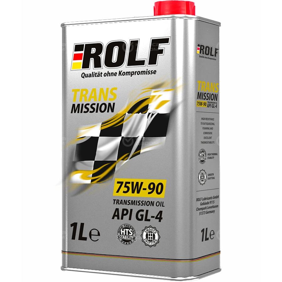 Rolf Трансмиссионное масло для автомобиля ROLF Transmission GL-4 75w90 1л