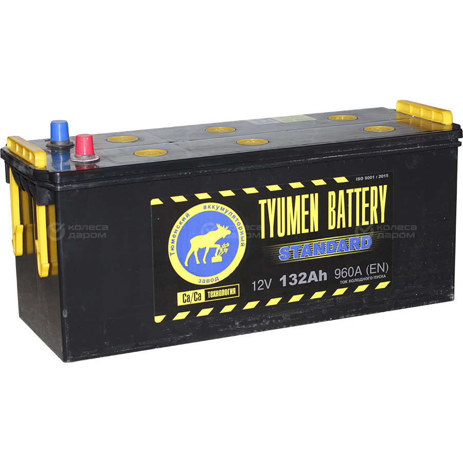 Tyumen Battery Грузовой аккумулятор