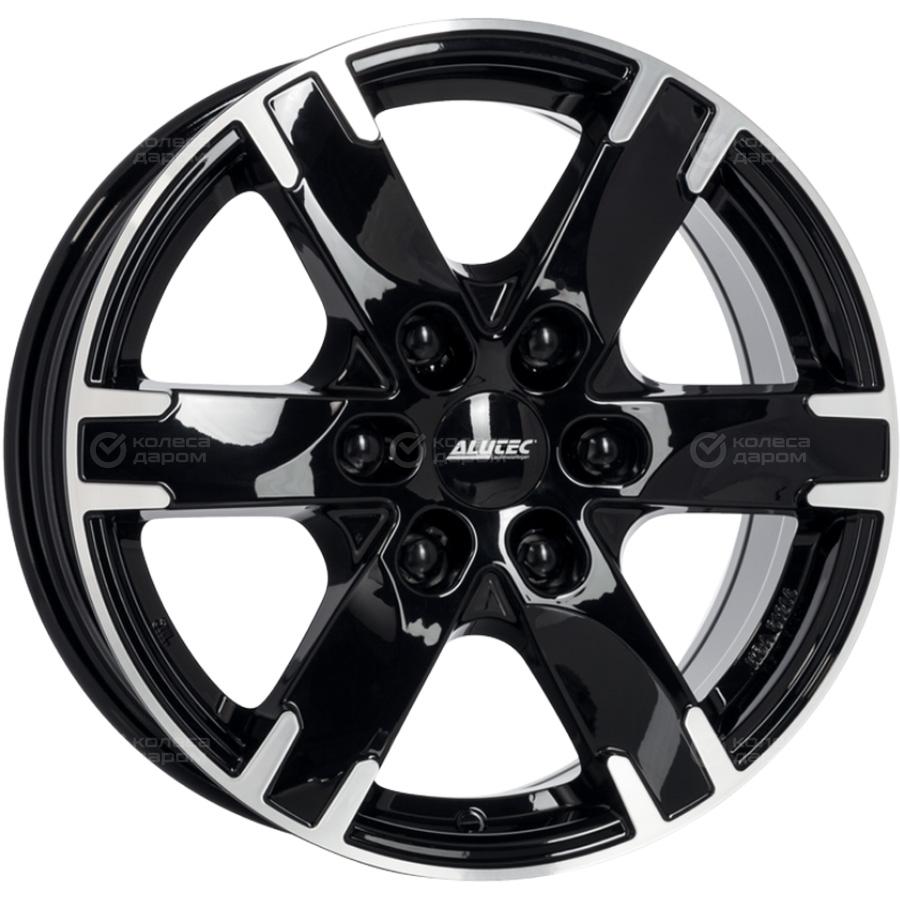 Alutec Titan 7x16/6x114.3 D66.1 ET45 Diamond_black_front_polished недорого