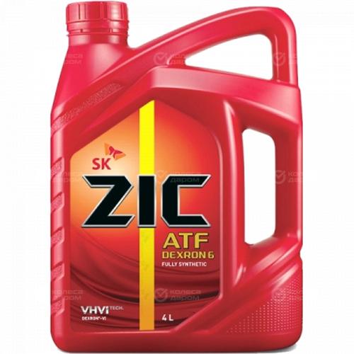 ZIC Трансмиссионное масло для автомобиля Zic ATF Dexron VI 4л zic трансмиссионное масло для автомобиля zic atf sp4 1л